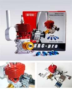 Newest GF26i 26cc RC Gasoline Engine, 26cc Engine Motor