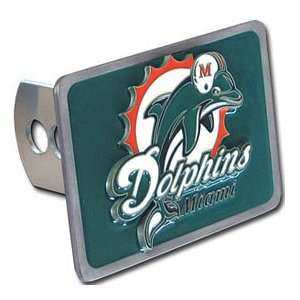 Miami Dolphins Trailer Hitch Cover Automotive