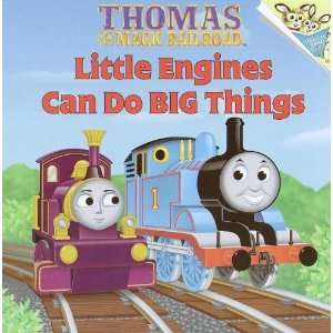 Little Engines Can Do Big Things [Paperback] Britt Allcroft Books