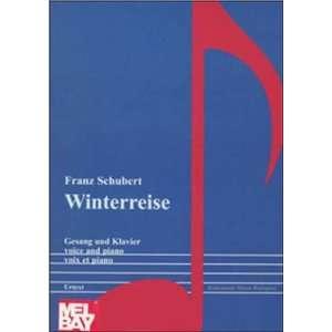 Schubert: Winterreise (Music Scores) (9789639059993): Franz Schubert