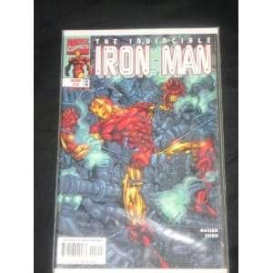 Marvel comics   The Invincible IRON MAN 3 April 1988
