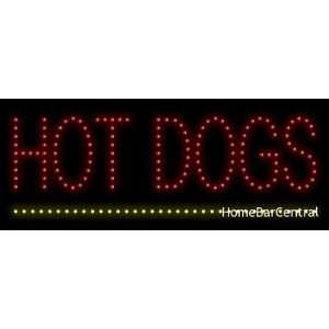 Hot Dogs LED Sign   22079