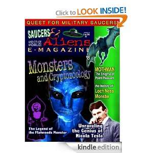 Saucers and Aliens Magazine. Nick Pope, UFO Guy, William Knell