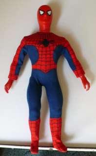 1978 Mego Amazing Spider Man 12 Figure Flyaway Rare