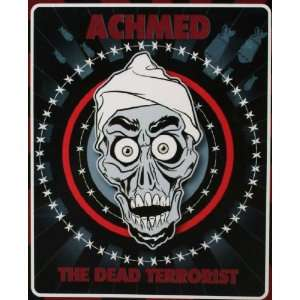 Jeff Dunham Achmed The Dead Terrorist Fleece Blanket: Home
