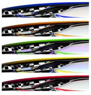 RACE CAR GRAPHICS Partial Vinyl Wrap IMCA Late Model FX