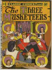 1941) First issue original edition featuring The Three Musketeers