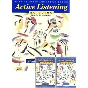 com Active Listening 2 Book and Audiocassette Tapes Building Skills