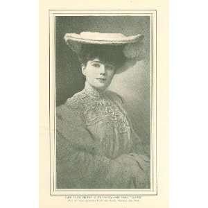 1904 Print Actress Singer Fritzi Scheff