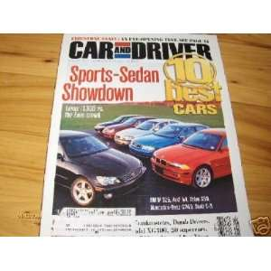 Road Test 2002 Ford Explorer Eddie Bauer Car and Driver Magazine