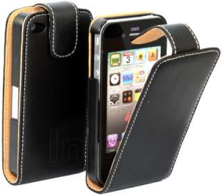 London Magic Store   BLACK EXECUTIVE FLIP LEATHER CASE FOR APPLE
