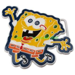 Design SPONGEBOB SQUAREPANTS SPONGE SEA WORLD Belt Buckle Gift P26T