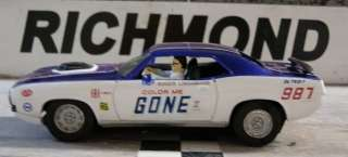Color Me Gone Roger Lindamood 1/32nd Custom Built Slot Car. DRAG NHRA