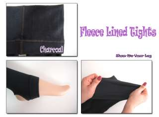 fleece lined leggings / tights will keep you warm from cold weather