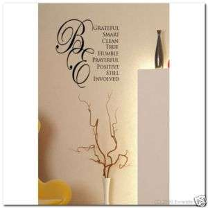 Hinckley Bes  Vinyl Wall Lettering Words Decor Decal