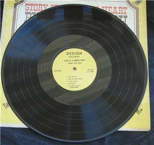 Story Of A Broken Heart, Johnny Cash, 33RPM LP Record