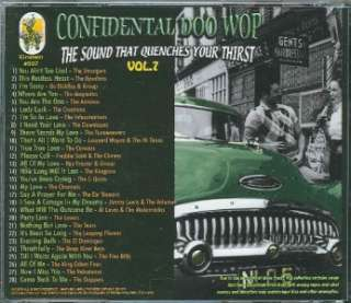 CONFIDENTIAL DOO WOPS VOL 7 CD 28 TRACKS NEW