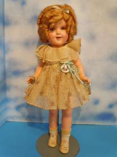 ideal shirley temple pin marked ideal shirley temple item id 3b 32