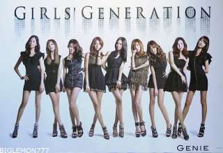 SNSD GIRLS GENERATION ~ GENIE ~ MUSIC Poster # 1