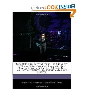 , Kim Carnes, and Black Sabbath (9781240199778) Robert Dobbie Books