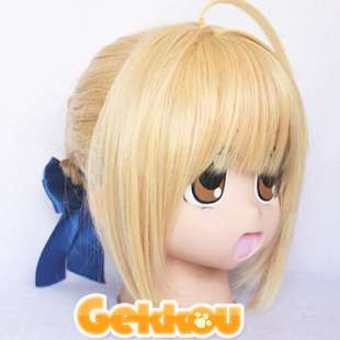 New Style Short FATE/ZERO saber Fashion Full Party Customs Cosplay wig