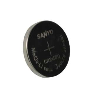 Sanyo CR2450 Lithium 3V Coin Cell Battery DL2450 CR2450N ECR2450