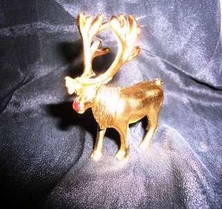Estee Lauder Perfume Compact Happy Winter Reindeer