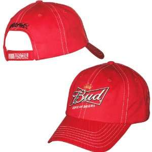 Budweiser / Richard Childress Racing Hat Adjustable Sports & Outdoors