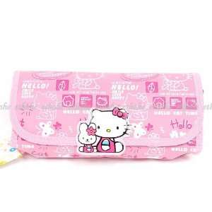 Hello Kitty Pencil Case Box Cosmetic Bag Handbag Beauty