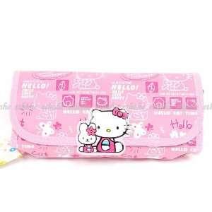 Hello Kitty Pencil Case Box Cosmetic Bag Handbag Beauty