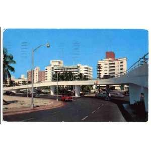 ocean front hotels in background, Miami Beach, Florida: Home & Kitchen