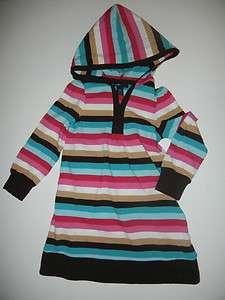 NEW Baby Gap Chelsea Hooded Stripe Dress 5T LR