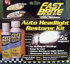 auto headlight restorer kit Up to 5x Brighter As Seen on T.V