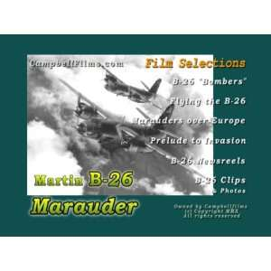 Air Force Martin B 26 Marauder Medium Bomber films WW2 Italy ope