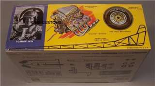 AMT 621 Tommy IVO Front Engine Dragster Factory New