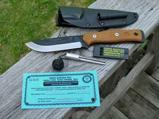 TOPS USA   BOB   BROTHERS OF BUSHCRAFT   SURVIVAL KNIFE   FIRE STARTER