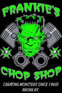 Rat Hot Rod Rockabilly Frankenstein Work Shirt Chop Sho