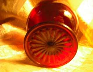 Vintage Anchor Hocking Royal Ruby Sherbet Sundae Glass Bowl Dish