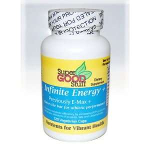 INFINITE ENERGY PLUS, 120 VEGI CAPS Health & Personal