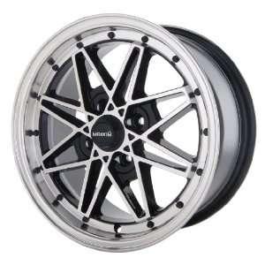 15x7 Maxxim Screech (Black w/ Machined Lip) Wheels/Rims