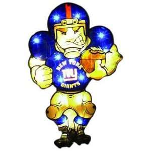 New York Giants Double Sided Car Window Light Up Player