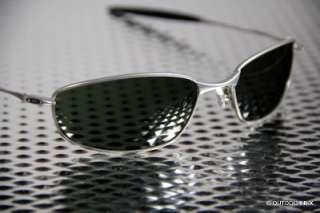 NEW OAKLEY WHISKER SUNGLASSES Silver frame / Dark Grey lens