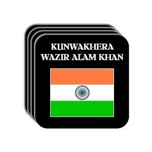 India   KUNWAKHERA WAZIR ALAM KHAN Set of 4 Mini Mousepad Coasters