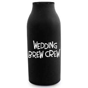 Wedding Brew Crew Bole Koozie  Kichen & Dining