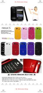 SAMSUNG GOOGLE NEXUS S MERCURY JELLY CASE / HIGH QUALITY PEARL JELLY
