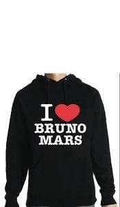 LOVE BRUNO MARS HOODIE   ANY SIZE/COLOUR HOODIE