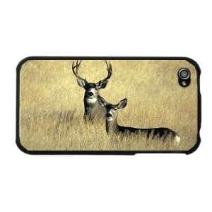 Mule Deer Buck Doe Hunting Photo Apple iPhone 4 4S Case