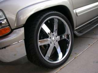 Wheel + Tire Packages 28 inch Triple chrome rims U2 55