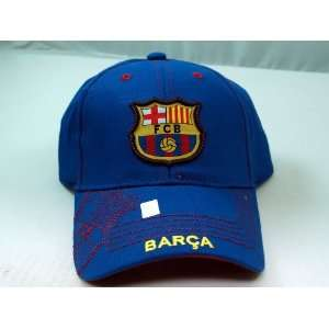 FC BARCELONA OFFICIAL TEAM LOGO CAP / HAT   FCB010 Sports