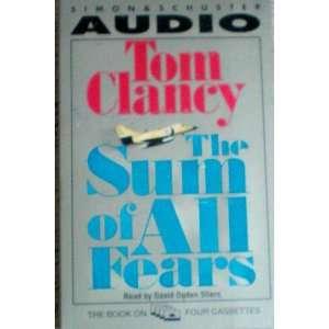 Tom Clancy    4 Audio Cassettes    Read by David Ogden Stiers Books